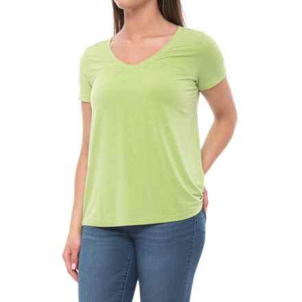 White Sierra Kalahari II T-Shirt - Modal Blend, Short Sleeve (For Women) in Greenery - Closeouts