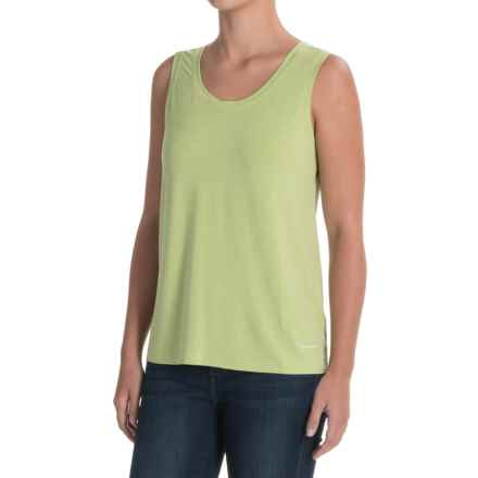 White Sierra Kalahari II Tank Top (For Women) in Greenery - Closeouts