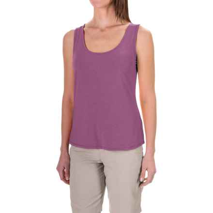 White Sierra Kalahari Tank Top (For Women) in Grape - Closeouts