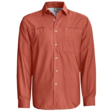 White Sierra Kalgoorlie Shirt - UPF 30, Long Sleeve (For Men) in Adobe - Closeouts