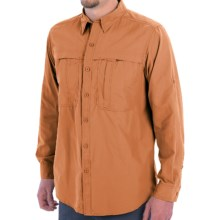 White Sierra Kalgoorlie Shirt - UPF 30, Long Sleeve (For Men) in Apricot - Closeouts