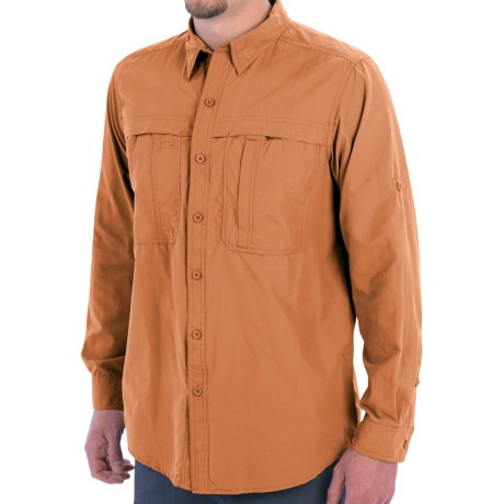 photo: White Sierra Men's Kalgoorlie Shirt hiking shirt