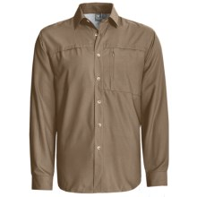 White Sierra Kalgoorlie Shirt - UPF 30, Long Sleeve (For Men) in Bark - Closeouts