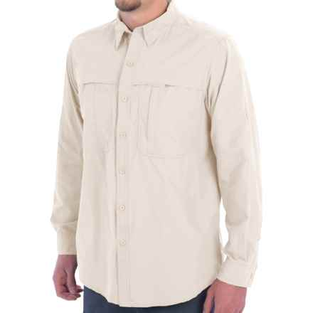 White Sierra Kalgoorlie Shirt - UPF 30, Long Sleeve (For Men) in Blanc De Blanc - Closeouts