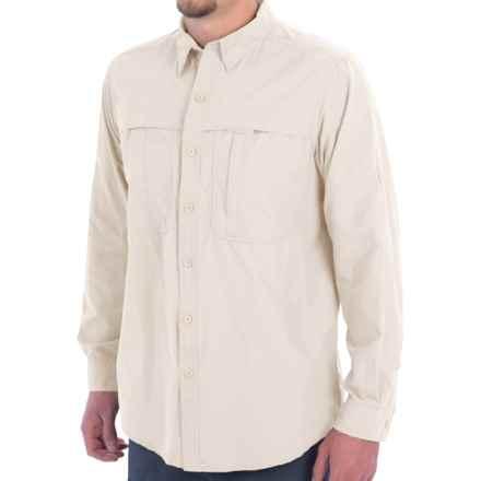 White Sierra Kalgoorlie Shirt - UPF 30, Long Sleeve (For Men) in Blanc De Blanc - Closeouts