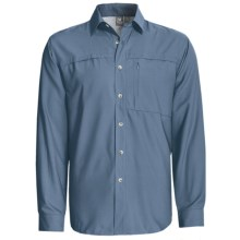 White Sierra Kalgoorlie Shirt - UPF 30, Long Sleeve (For Men) in Blue Steel - Closeouts