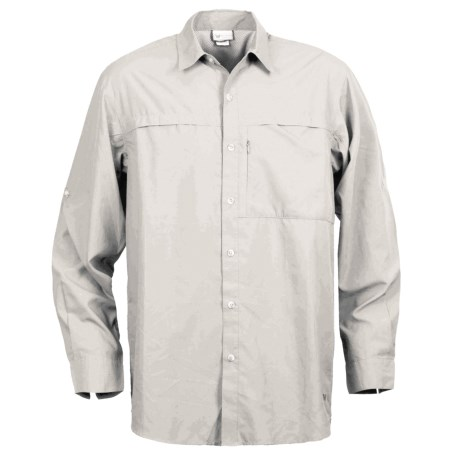 White Sierra Kalgoorlie Shirt - UPF 30, Long Sleeve (For Men) in Cloud