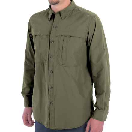 White Sierra Kalgoorlie Shirt - UPF 30, Long Sleeve (For Men) in Deep Lichen Green - Closeouts