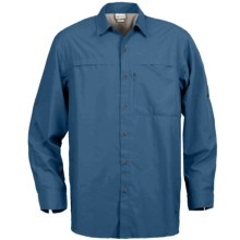 White Sierra Kalgoorlie Shirt - UPF 30, Long Sleeve (For Men) in Deep Water - Closeouts