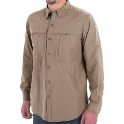 White Sierra Kalgoorlie Shirt - UPF 30, Long Sleeve (For Men) in Khaki