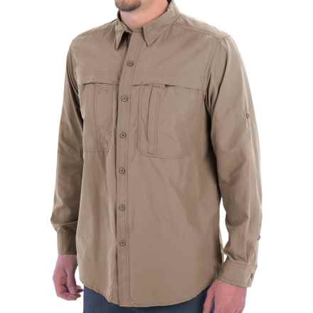 White Sierra Kalgoorlie Shirt - UPF 30, Long Sleeve (For Men) in Khaki - Closeouts