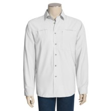 White Sierra Kalgoorlie Shirt - UPF 30, Long Sleeve (For Men) in White - Closeouts