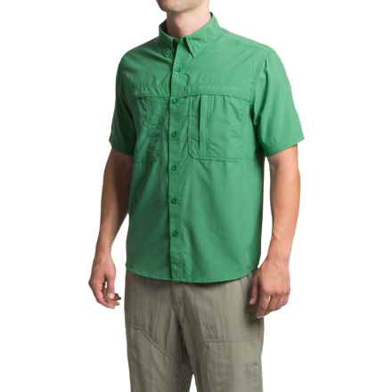 White Sierra Kalgoorlie Shirt - UPF 30, Short Sleeve (For Men) in Fir - Closeouts