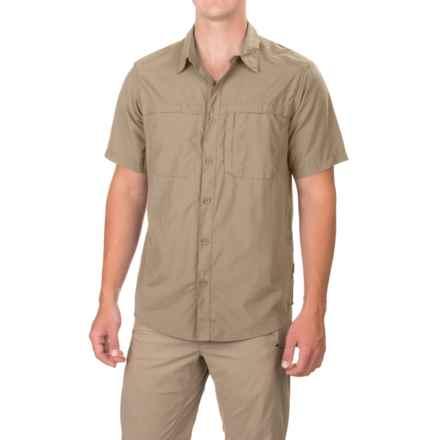 White Sierra Kalgoorlie Shirt - UPF 30, Short Sleeve (For Men) in Khaki - Closeouts