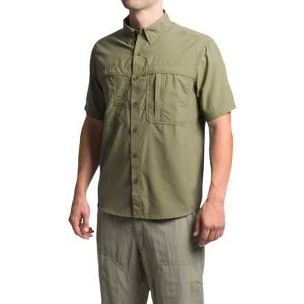 White Sierra Kalgoorlie Shirt - UPF 30, Short Sleeve (For Men) in Sage - Closeouts