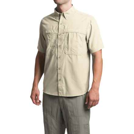 White Sierra Kalgoorlie Shirt - UPF 30, Short Sleeve (For Men) in Sand - Closeouts