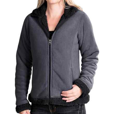 White Sierra Kodiak II Bonded Jacket (For Women) in Charcoal Heather - Closeouts