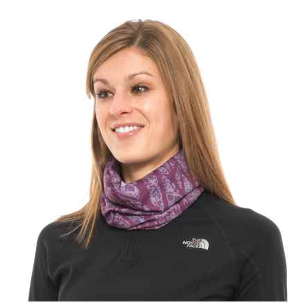 White Sierra Kool Multifunctional Headwear - UPF 20 (For Women) in Dark Purple - Closeouts