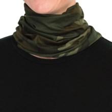 White Sierra Kool Multifunctional Headwear - UPF 20 (For Women) in Sage - Closeouts