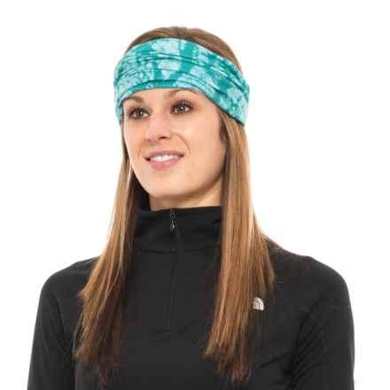 White Sierra Kool Multifunctional Headwear - UPF 20 (For Women) in Viridian Green - Closeouts