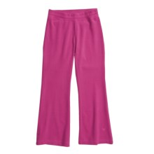 White Sierra Kylie II Fleece Pants (For Girls) in Magenta - Closeouts