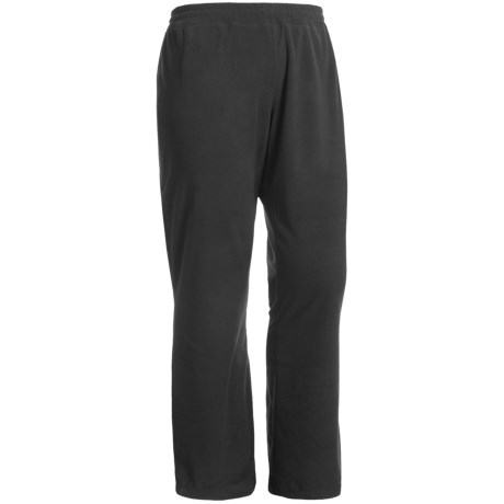 White Sierra Kylie II Fleece Pants (For Plus Size Women) in Black
