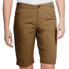 White Sierra Lakeport Bermuda Shorts (For Women) in Bark - Closeouts