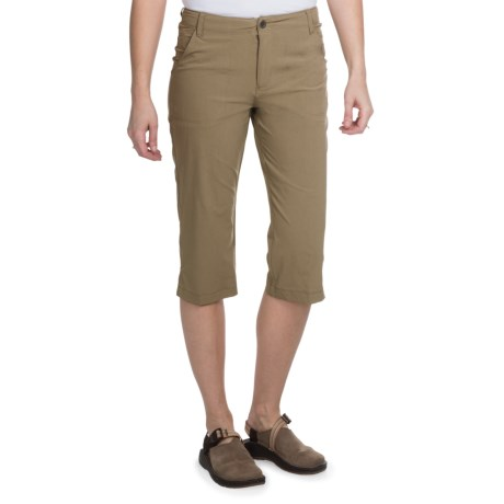 White Sierra Lakeport Skimmer Shorts (For Women) in Bark