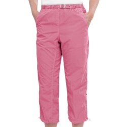 White Sierra Lihue Capris (For Women) in Pink Sunset