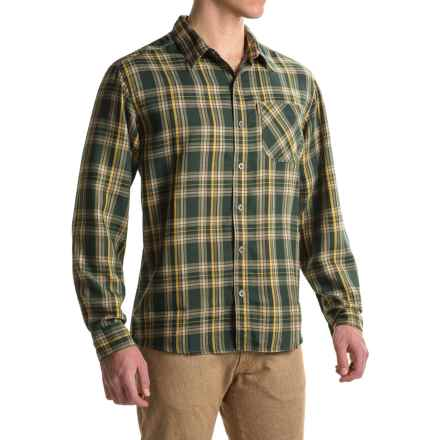 White Sierra Mad River Plaid Shirt - Long Sleeve (For Men) in Deep Forest - Closeouts