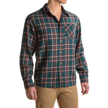 White Sierra Mad River Plaid Shirt - Long Sleeve (For Men) in Pond - Closeouts
