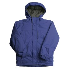 White Sierra Magic Carpet Jacket - Insulated (For Boys) in Cobalt - Closeouts