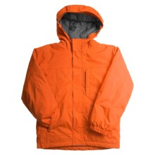 White Sierra Magic Carpet Jacket - Insulated (For Boys) in Red Clay - Closeouts
