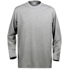 White Sierra Marsh T-Shirt - Insect Shield®, UPF 30, Long Sleeve (For Youth) in Heather Grey - Closeouts