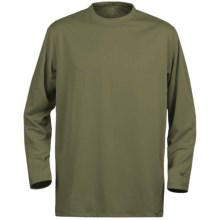 White Sierra Marsh T-Shirt - Insect Shield®, UPF 30, Long Sleeve (For Youth) in New Sage - Closeouts