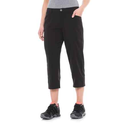 White Sierra Mendocino Stretch Capris (For Women) in Black - Closeouts