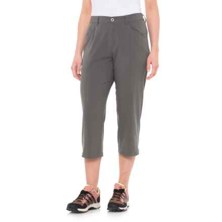 White Sierra Mendocino Stretch Capris (For Women) in Castlerock - Closeouts