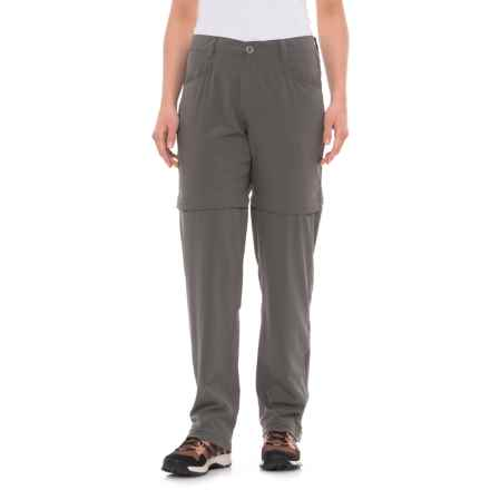 White Sierra Mendocino Stretch Convertible Pants (For Women) in Castlerock - Closeouts