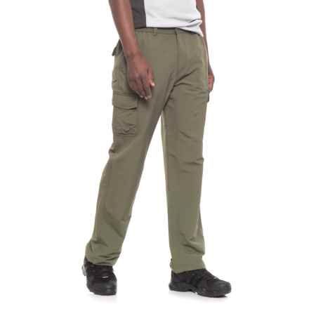 White Sierra Mojave Pants - UPF 30 (For Men) in Dark Olive - Closeouts