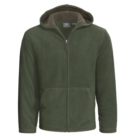 White Sierra Moraine Hoodie - Chunky Fleece (For Men)