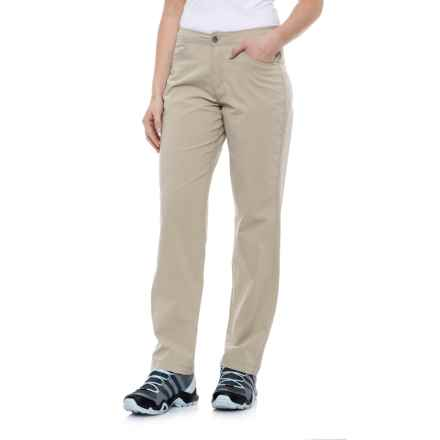 White Sierra Mount Shasta Stretch Pants (For Women) in Stone - Closeouts