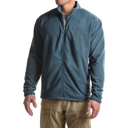 White Sierra Mountain II Fleece Jacket (For Big Men) in Navy - Closeouts