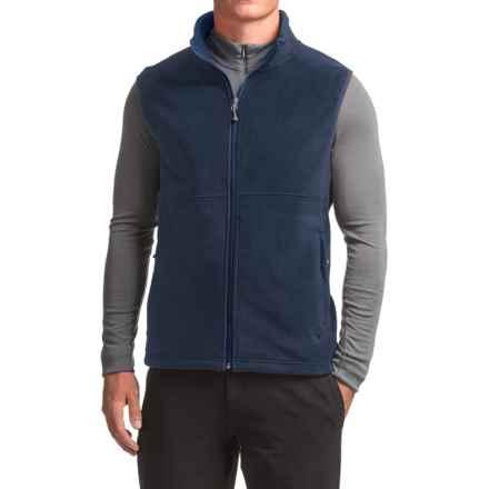 White Sierra Mountain II Fleece Vest (For Men) in Navy - Closeouts