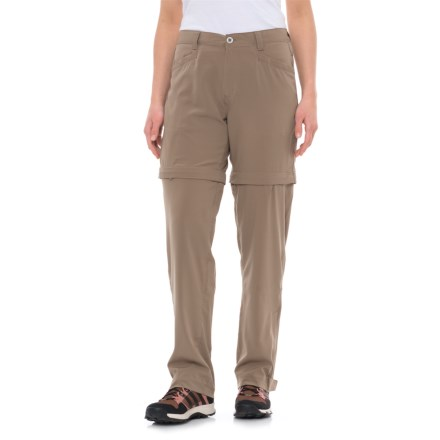 087e2f82c6c9c White Sierra mt. Tamalpais Stretch Convertible Pants (For Women) in Bark -  Closeouts