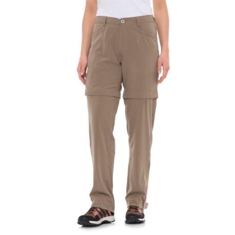 White Sierra mt. Tamalpais Stretch Convertible Pants (For Women) in Bark