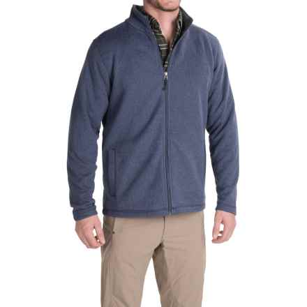 White Sierra Murphys Fleece Sweater - Zip Front (For Men) in Blue Indigo - Closeouts