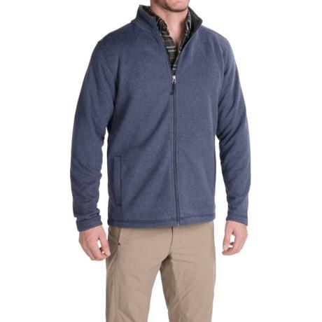 White Sierra Murphys Fleece Sweater - Zip Front (For Men)