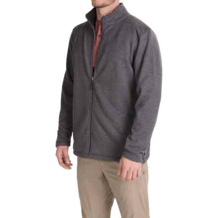 White Sierra Murphys Fleece Sweater - Zip Front (For Men) in Charcoal Heather - Closeouts