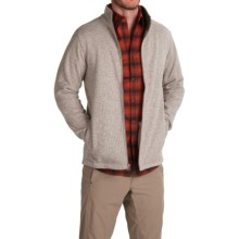 White Sierra Murphys Fleece Sweater - Zip Front (For Men) in Humus - Closeouts