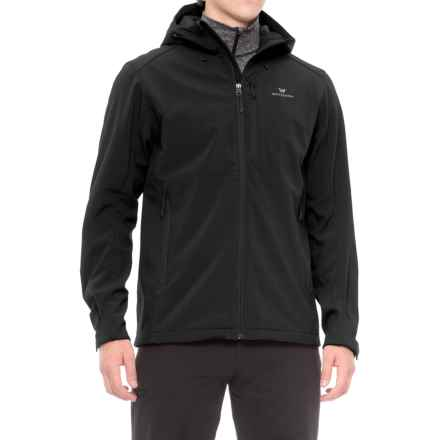 White Sierra New Moon Soft Shell Jacket (For Men) in Black - Closeouts